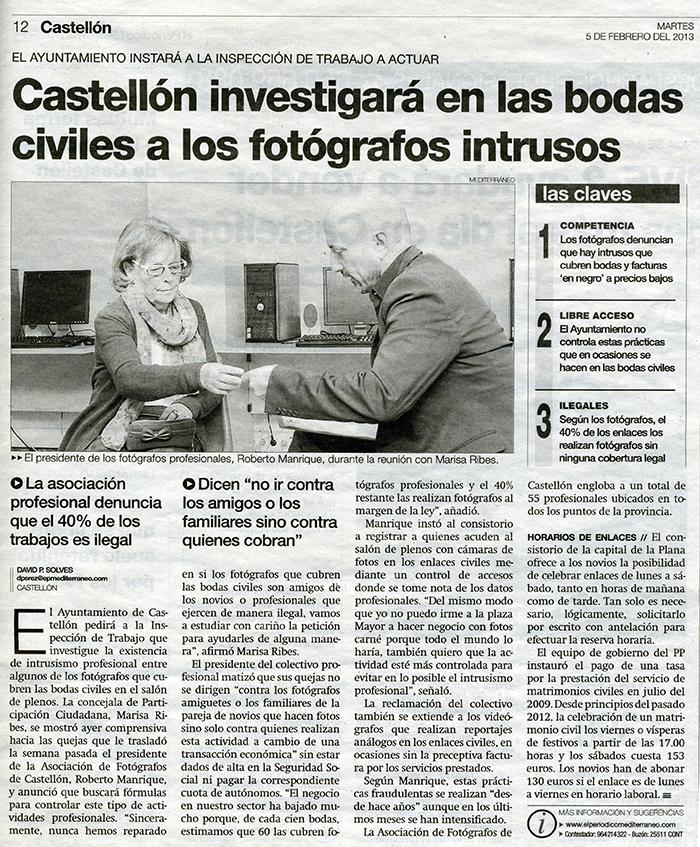 Fotografos ilegales en castellon